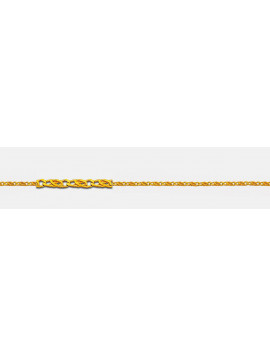 Αλυσίδα Λαιμού Χρυσή 14 καράτια 40cm AL16003