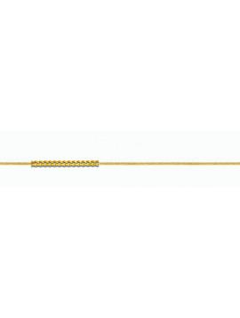 Αλυσίδα Λαιμού Χρυσή 14 καράτια 40cm AL16006
