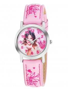 AM:PM Kids Pink Leather Strap DP140-K272