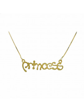 Kολιέ Princess Χρυσό 14 Καράτια