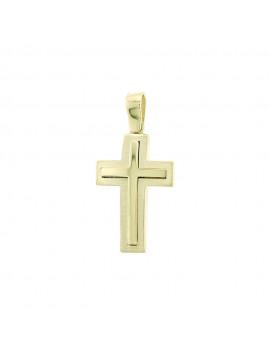 Σταυρός Χρυσός 14 Καράτια oro83