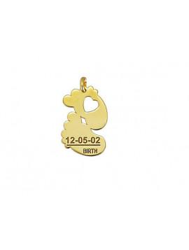 Μενταγιόν Χρυσό 14 Καράτια Μ001450