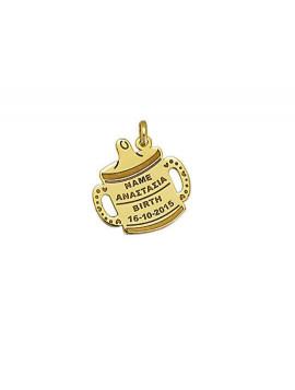 Μενταγιόν Χρυσό Παιδικό 14 Καράτια Μ001451