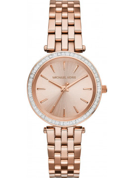 MICHAEL KORS Darci Rose Gold Stainless Steel Bracelet MK3366