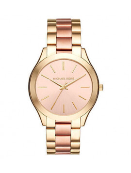 Michael Kors Runway Ladies Rose Gold Watch MK3493