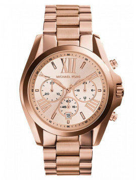 Michael Kors Rose Gold Chrono Watch MK5503