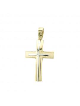 Σταυρός Χρυσό 14 Καράτια 5ΔΟ.198ΣΤ-1