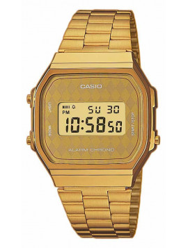 Casio Collection Gold Stainless Steel A-168WG-9BWEF