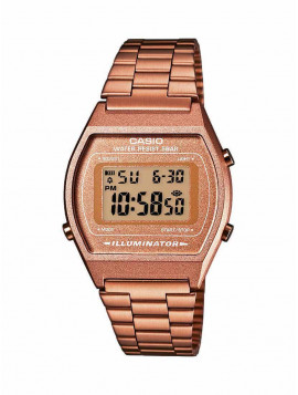 Casio Collection Rose Gold Stainless Steel B-640WC-5A