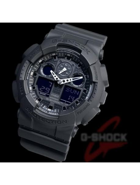 Casio G-Shock Anadigi Black Rubber StrapGA-100-1A1ER
