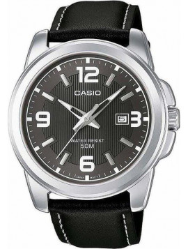 CASIO Collection Black Leather Strap MTP-1314PL-8AVEF d8a6ee9b198