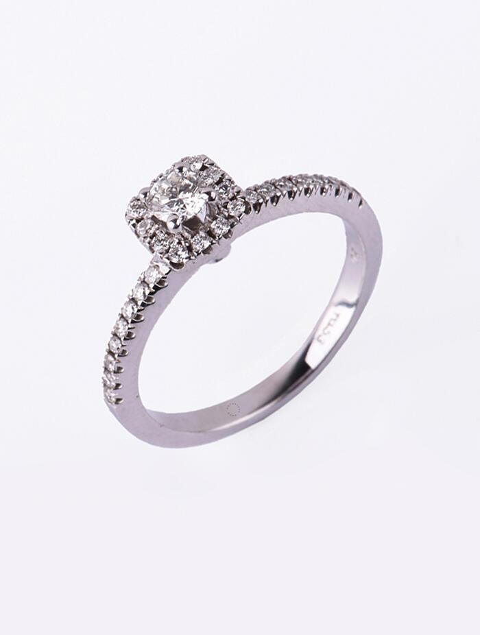 Sale Δαχτυλίδι Μονόπετρο Λευκόχρυσο Με Διαμάντι DD14 7db2a74d2f1