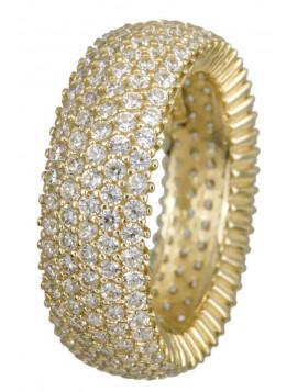Δαχτυλίδι Ortaxidis Χρυσό Ολόβερο