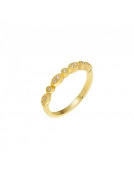 Δαχτυλίδι Χρυσό 14 Καράτια Με Ζιργκόν oro278