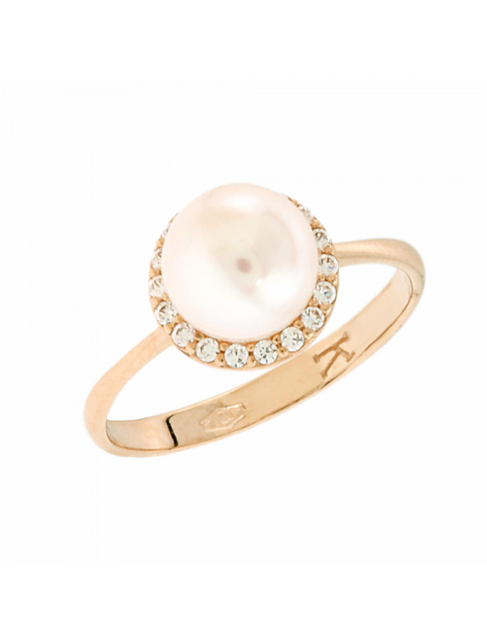 Δαχτυλίδι Ροζ Χρυσό Με Μαργαριτάρι Και Ζιργκόν 5bl.5555rr d9d2c8720ad