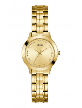 GUESS Gold Stainless Steel Bracelet W0989L2