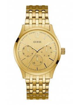 GUESS Multifunction Gold Stainless Steel Bracelet W0995G2