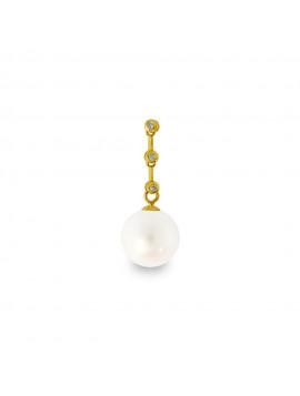 Μενταγιόν Χρυσό Με Διαμάντια CN905