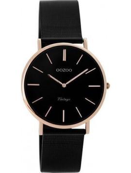 OOZOO Vintage Black Metallic Bracelet C8871