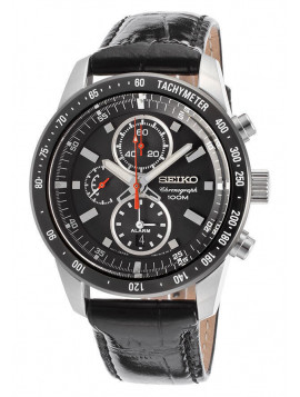 Seiko Men's Chrono Stainless Steel Silver