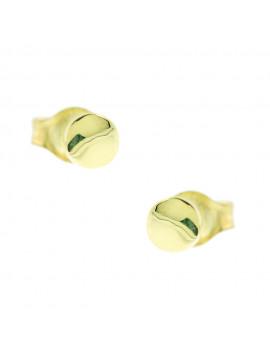 Σκουλαρίκια Χρυσά Κύκλος Ortaxidis 3ΣΟΥ.315ΣΚ