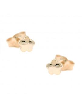Σκουλαρίκια Ροζ Χρυσό Ortaxidis 3ΣΟΥ.320ΡΣΚ