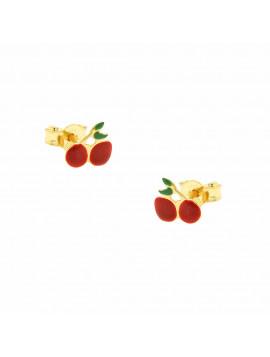 Σκουλαρίκια Παιδικά Χρυσά 3str.1645or