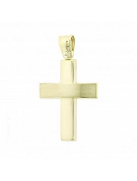 Σταυρός Χρυσός 14 Καράτια Ανδρικός 5ΤΣ.320ΣΤ