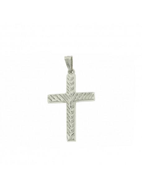 Σταυρός Λευκόχρυσος 14 Καράτια 5luc.866bcr