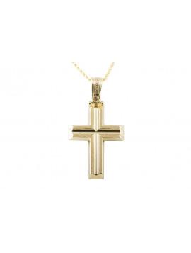 Σταυρός Triantos Χρυσός 14 Καράτια oro371