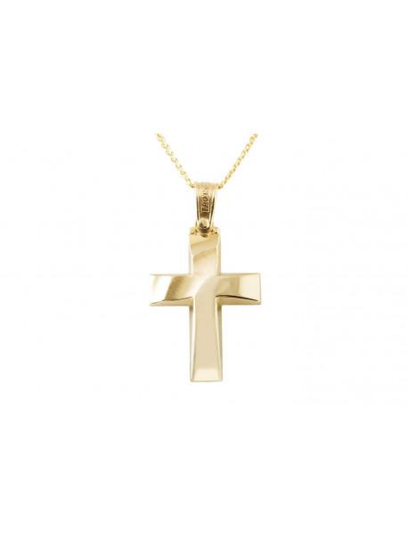 Σταυρός Triantos Χρυσός 14 Καράτια oro372