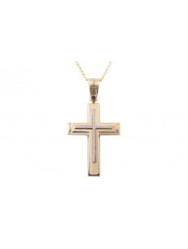 Σταυρός Triantos Χρυσός 14 Καράτια oro373