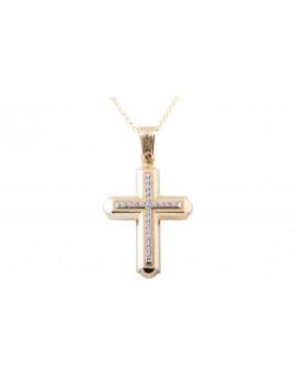 Σταυρός Triantos Χρυσός 14 Καράτια oro363