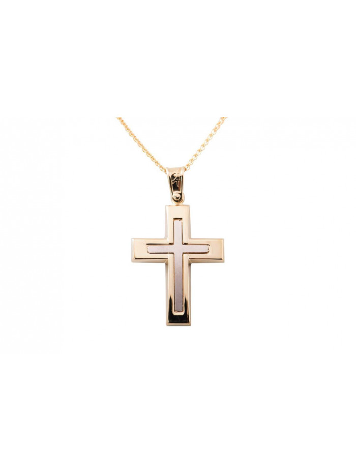 e322b01ca28 Σταυρός Ανδρικός Χρυσός 14 Καράτια oro312