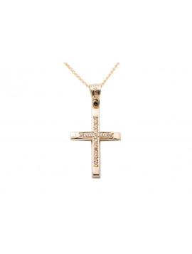 Σταυρός Triantos Χρυσός 14 Καρατίων oro355