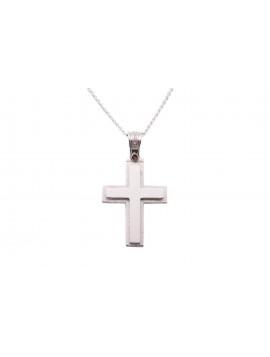 Σταυρός Triantos Σε Λευκόχρυσο 14 Καρατίων oro350