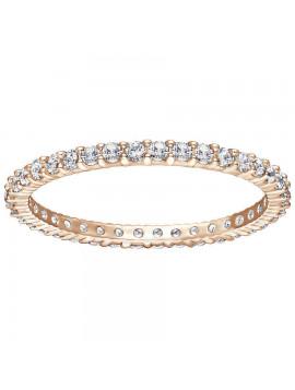 Swarovski Vittore Δαχτυλίδι Επιπλατινωμένο - Ροζ Χρυσό Με Λευκές Πέτρες 5083129