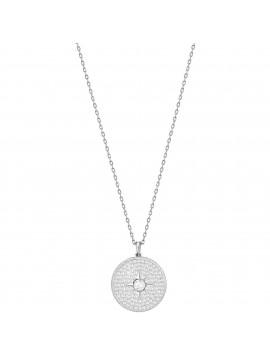 Swarovski Locket Κολιέ, Επιπλατινωμένο Με Λευκά Κρύσταλλα 5397124
