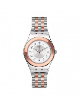 Swatch Midimix Two Tone Stainless Steel Bracelet YLS454G