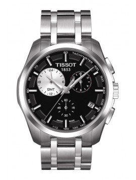 TISSOT T-Classic Couturier Chronograph Stainless Steel Bracelet T0354391105100