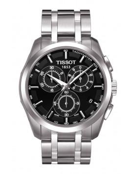 Tissot Men's T-Classic Couturier Quartz Chronograph Stainless Steel Bracelet
