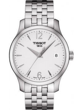 TISSOT T-CLASSIC TRADITION STAINLESS STEEL BRACELET T0632101103700