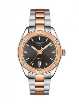 TISSOT PR100 Lady Stainless Steel Bracelet T1019102206100