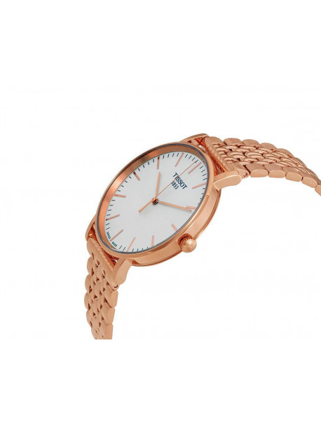 TISSOT T-Classic Everytime Rose Gold Stainless Steel Bracelet T1094103303100