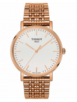 TISSOT T-Classic Everytime Rose Gold Stainless Steel Bracelet T1094103303100